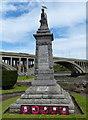 NT9952 : Tweedmouth war memorial by Mat Fascione