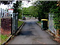 ST1989 : An entrance to Graig-y-rhacca Primary School by Jaggery
