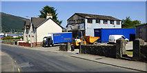 NS1680 : Yard on Rankin's Brae by Thomas Nugent