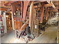 SZ4186 : Calbourne Water Mill - roller mill drive by Chris Allen