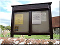 TM1134 : St.Michael the Archangel Church Notice Board by Adrian Cable