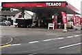 ST2990 : Texaco filling station, Monnow Way, Bettws, Newport by Jaggery