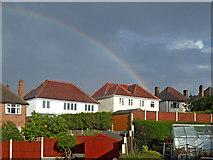 SO9096 : Rainbow over Penn in Wolverhampron by Roger  Kidd