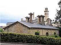 SE1338 : Roberts Park - ornamental chimneys by Stephen Craven