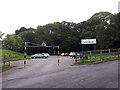 SE1338 : Hirst Wood car park by Stephen Craven