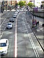 SJ8497 : Traffic in London Road by Oliver Dixon