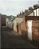 SE3053 : Back street, Oatlands by Derek Harper