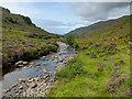 NG9027 : River Glennan by John Allan