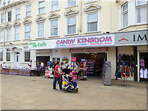 TG5307 : Shops, Regent Road, Great Yarmouth by Robin Webster
