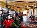 NJ9967 : Inside the Kinnaird Lighthouse Engine House by valenta