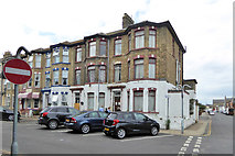 TG5307 : Houses, Kent Square, Great Yarmouth by Robin Webster