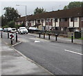 ST2990 : Monnow Way traffic calming near Brookside, Bettws, Newport by Jaggery