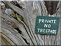 "SK2573 : ""Private No Trespass"" : Week 34"