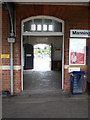 TM0932 : Ticket Hall at Manningtree Railway Station by Adrian Cable