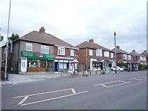 NZ2660 : Shops on Old Durham Road, Sherrif Hill, Gateshead by JThomas