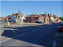 SK5993 : Market Place, Tickhill by Philip Halling