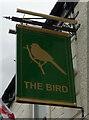 NZ3057 : Sign for the Bird Inn, Washington by JThomas