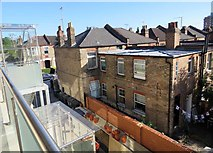 TQ2789 : Rear of houses on Kitchener Road by Andrew Tatlow