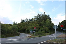 SU4653 : Joining the A34 at Litchfield by David Howard