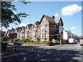 NZ4059 : Houses on Roker Park Road, Sunderland by JThomas