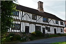TL9836 : Stoke by Nayland: Half timbered dwelling opposite St. Mary's Church by Michael Garlick
