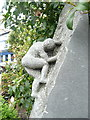 C1611 : Nearly there!, Everest sculpture detail, Letterkenny by Humphrey Bolton