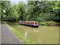 SP7350 : Trip Boat Indian Chief heading towards the Blisworth Tunnel by David Dixon