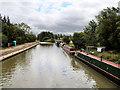 SP7548 : Stoke Bruerne Bottom Lock Moorings by David Dixon