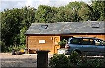 SU5632 : Lea Farm Shop, Itchen Stoke by David Howard