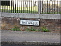 TM1131 : The Walls sign by Adrian Cable