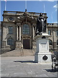 NZ3666 : Queen Victoria statue outside the town hall, South Shields by JThomas