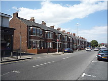 NZ3665 : Houses on Imeary Street, South Shields by JThomas