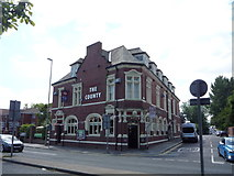 NZ3765 : The County public house, South Shields by JThomas