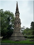 SO2160 : Monument of Sir George Cornewall Lewis (New Radnor) by Fabian Musto