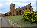 SP8059 : The Parish Church of St Mary the Virgin, Little Houghton by David Dixon