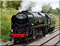 SP0938 : Steam locomotive, Broadway railway station : Week 35