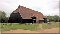 TL8422 : The Grange Barn, Coggeshall by Chris Morgan