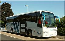 SX9065 : Coach, Cricketfield Road, Torre by Derek Harper