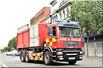 J3374 : Primark (Bank Buildings) fire, Belfast - August 2018(7) by Albert Bridge