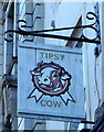 NZ3957 : Sign for the Tipsy Cow, Sunderland by JThomas