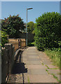 SX9166 : Footpath to Clennon Lane by Derek Harper