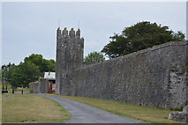 S2034 : Fethard town walls - tower by N Chadwick