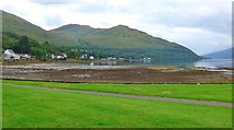 NN2904 : The head of Loch Long at low tide by Gordon Brown