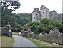 ST9326 : Old Wardour Castle [3] by Michael Dibb