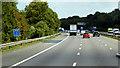 SP0972 : M42 east of Portway by David Dixon