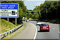 SP1272 : M42 Link Road at M42/M40 Interchange by David Dixon