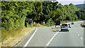 SX8777 : Layby and Junction on the A380 by David Dixon
