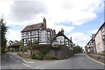 SO3958 : Junction of High Street and Bearwood Lane, Pembridge by David Smith