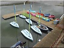 NT1278 : Low-tech boats at Port Edgar Marina by Oliver Dixon