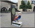 ST7564 : Emma the Community Rail Owl near Bath Spa railway station by Jaggery
